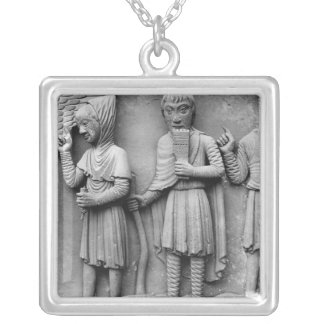 West portal, South door, tympanum epicting Silver Plated Necklace