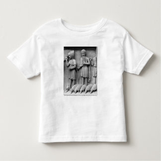 West portal, South door, tympanum epicting Toddler T-shirt