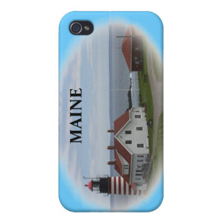 West Quaddy Head Lighthouse iPhone 4/4S Cover
