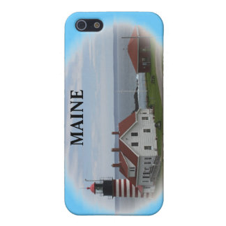 West Quaddy Head Lighthouse iPhone SE/5/5s Case
