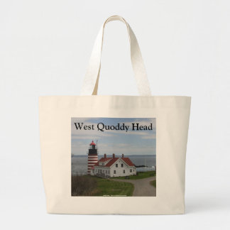 West Quoddy Head Large Tote Bag