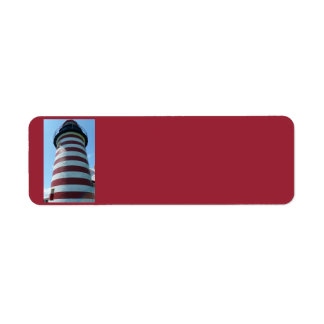 West Quoddy Head Light, Maine Address Labels