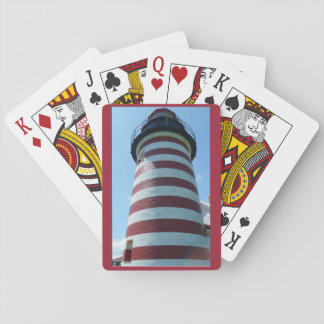 West Quoddy Head Light, Maine Playing Cards