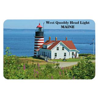 West Quoddy Head Light, Maine Premium Flexi Magnet