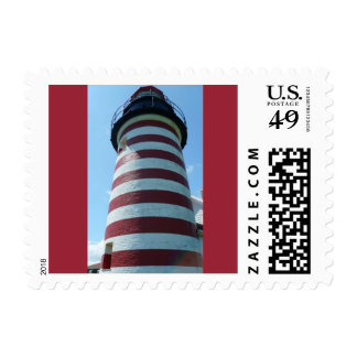 West Quoddy Head Light, Maine Stamps