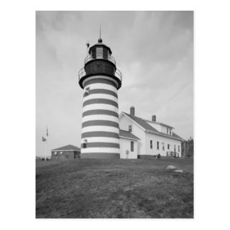 West Quoddy Head Light Station Postcard