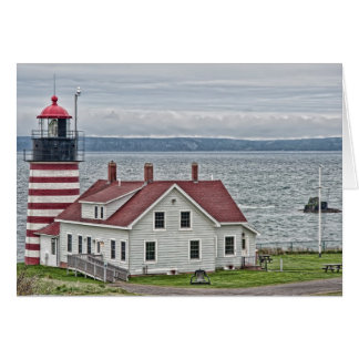 West Quoddy Head Lighthouse Card