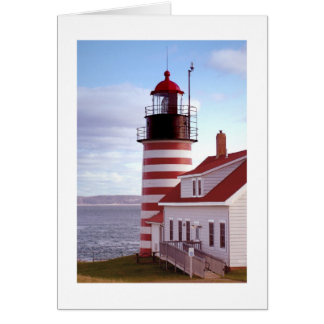 West Quoddy Head Lighthouse Cards