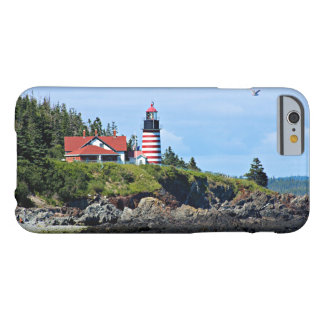 West Quoddy Head Lighthouse, Maine Barely There iPhone 6 Case