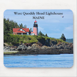 West Quoddy Head Lighthouse, Maine Mousepad