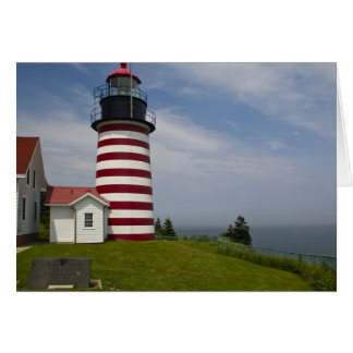West Quoddy Head Lighthouse State Park is the Greeting Card