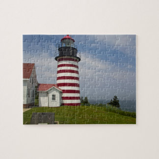 West Quoddy Head Lighthouse State Park is the Jigsaw Puzzle