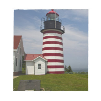 West Quoddy Head Lighthouse State Park is the Memo Pad