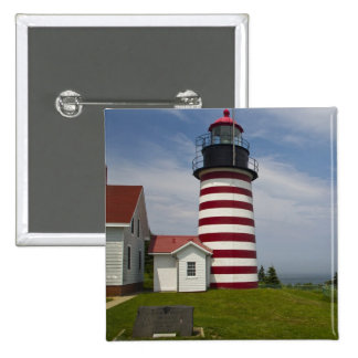 West Quoddy Head Lighthouse State Park is the Pinback Button