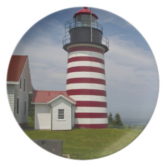 West Quoddy Head Lighthouse State Park is the Party Plates