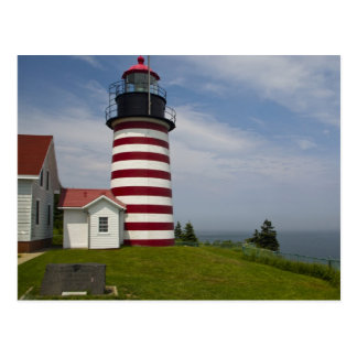 West Quoddy Head Lighthouse State Park is the Postcard