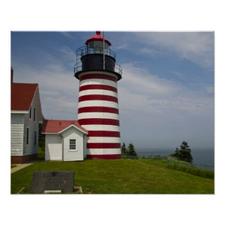 West Quoddy Head Lighthouse State Park is the Poster