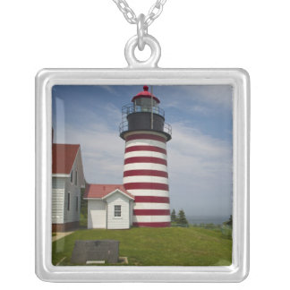 West Quoddy Head Lighthouse State Park is the Square Pendant Necklace