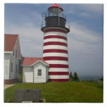 West Quoddy Head Lighthouse State Park is the Tiles