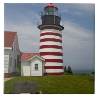 West Quoddy Head Lighthouse State Park is the Tile