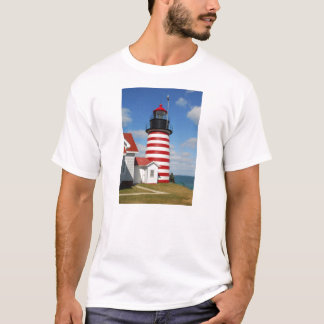 West Quoddy Head Lighthouse T-Shirt