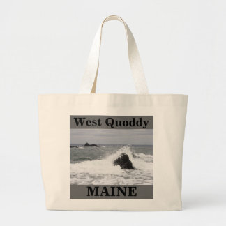 West Quoddy Large Tote Bag