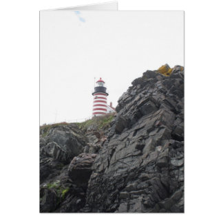 West Quoddy Lighthouse Card