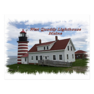 West Quoddy Lighthouse - Maine Postcard