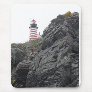 West Quoddy Lighthouse Mouse Pad