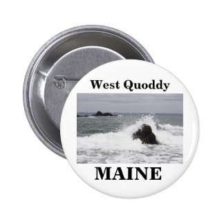 West Quoddy Pinback Button