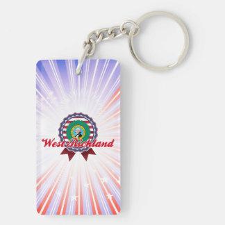 West Richland, WA Keychain