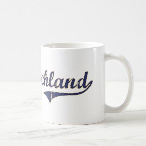West Richland Washington Classic Design Coffee Mug