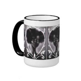 West Rise to Frame Black and White Mug