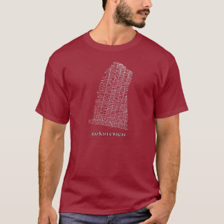 West Rok runestone, Rokstenen T-Shirt
