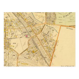 West Roxbury, Massachusetts 2 Postcard