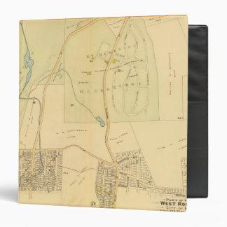 West Roxbury, Massachusetts 3 Vinyl Binder