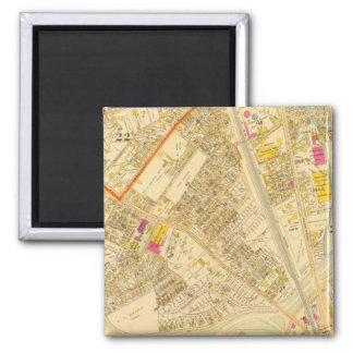 West Roxbury, Massachusetts 6 2 Inch Square Magnet