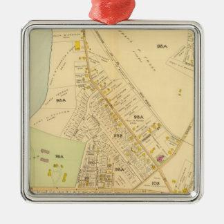 West Roxbury, Massachusetts 8 Metal Ornament