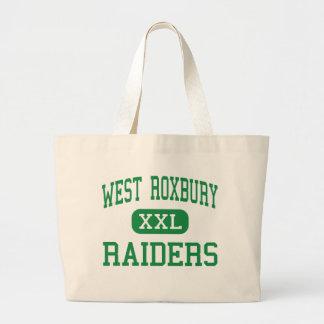 West Roxbury - Raiders - High - West Roxbury Tote Bags