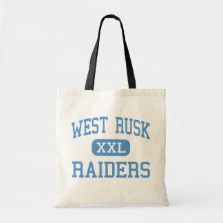 West Rusk - Raiders - Junior - New London Texas Canvas Bag