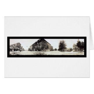 West Saginaw, Michigan Photo 1912 Greeting Card