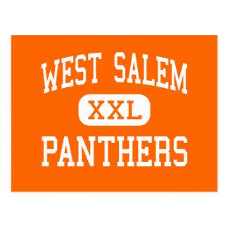 West Salem - Panthers - High - West Salem Postcard