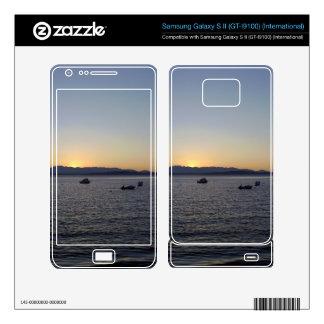 West Seattle Sunset Zazzle Skin For the Samsung Ga Samsung Galaxy S II Skins