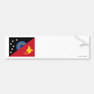 West Sepik (Sandaun) Province, PNG Bumper Sticker