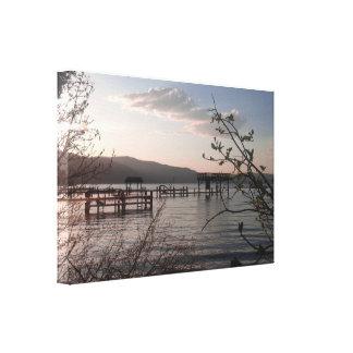 West Shore Lake Tahoe Sunset Canvas Print