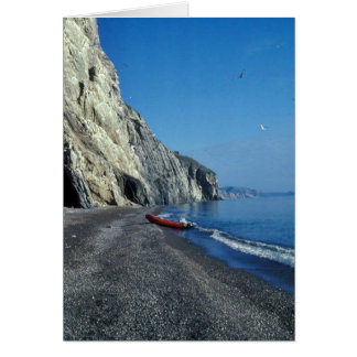 West shore of Cape Lisburne Greeting Card