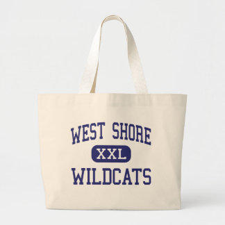 West Shore Wildcats Middle Milford Canvas Bags