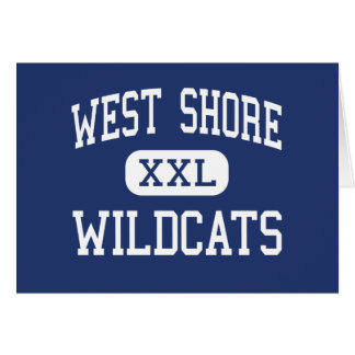 West Shore Wildcats Middle Milford Greeting Cards