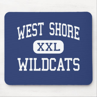 West Shore Wildcats Middle Milford Mouse Pad