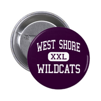 West Shore - Wildcats - Senior - Melbourne Florida Pin